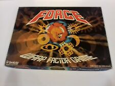 FORCE WARP FACTOR GAME 1977 FORCE GAME INVICTA GAMES NEW EX-SHOP STOCK
