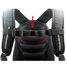 Adjustable Bag Backpack Webbing Sternum Chest Harness Buckle Clip Strap Nylon
