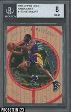 1998-99 Upper Deck Hardcourt Kobe Bryant Los Angeles Lakers BGS 8 NM-MT