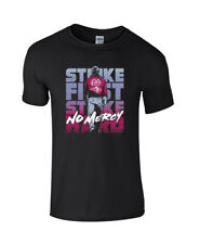 COBRA KAI KARATE KID TV STRIKE FIRST STRIKE HARD NO MERCY KIDS UNISEX T-SHIRT