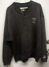 Vintage Oakland Raiders Starter Sweatshirt, Sz Large, NFL, Button Up, 1990s