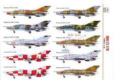 Hungarian Aero Decals 1/48 MIKOYAN MiG-21 UM Soviet Jet Fighter Part 2