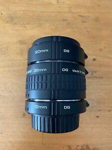 Kenko Jeu de 3 tubes-allonge AF 12/20/36mm Monture Nikon