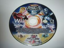 Hot Wheels: Battle Force 5 (Nintendo Wii, 2009) - Disc Only
