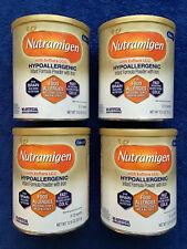 Lot 4 Enfamil Nutramigen Hypoallergenic Infant Baby Formula Powder Lgg Colic New