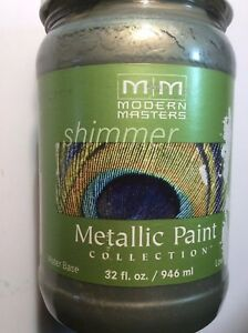Modern Masters Metal Effects Shimmer Metallic Paint IVY 32oz 946ml ME65432