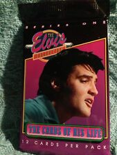 """NOS 1992 THE RIVER GROUP """"THE ELVIS COLLECTION"""" CARDS OF HIS LIFE SERIES ONE #6"""