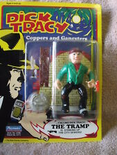 Playmates 1990 Dick Tracy Coppers andGangsters Tramp & Dick Tracy Action Figures