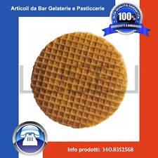 Pz 1000 cialda per gelato rotonda Biscotondo - wafer biscotto gelati gelateria