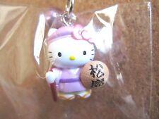 Sanrio Hello Kitty MATSUSHIMA Netsuke Charm Mascot Cell Phone Strap Japan New