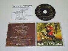 SWEET NOVEMBER/SOUNDTRACK/VARIOUS(WARNER SUNSET WPCR-10922) JAPAN CD ALBUM