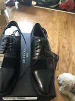 Coach Womens Waverly Patchwork Black Croc Calf Leather Ankle-High Oxford Sze 6M