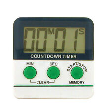 DIGITAL TIMER LCD BIG DIGIT COUNTDOWN / COUNT-UP BRAND-NEW MAGNETIC ATTACHMENT