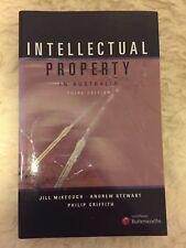 Intellectual Property in Australia by Jill McKeough, Andrew Stewart, Philip Gri…