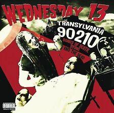 WEDNESDAY 13 - Transylvania 90210 - CD - Explicit Lyrics - Murderdolls Singer