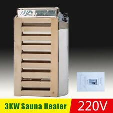 More details for sauna heater 3kw 220v dry sauna heater with control&stove for 3 m3 sauna room
