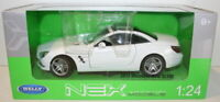 Welly NEX 1/24 Scale 24041W - 2012 Mercedes Benz SL500 - White