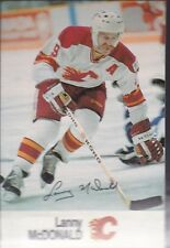1988-89 ESSO HOCKEY LANNY MCDONALD FLAMES MINT *56238