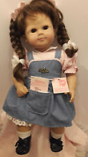 """Gotz Modell 20"""" Doll Brown hair and eyes"""