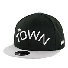 "New Era 950 Golden State Warriors ""The Town"" Snapback Hat (BK/SV-GY) Men's Cap"