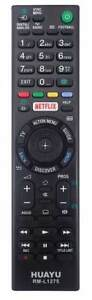 Replacement Sony LCD/LED TV Remote Control with Netflix button