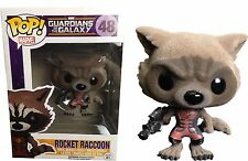 Funko Pop! Guardians of the Galaxy Rocket Raccoon Flocked Ravagers Edition