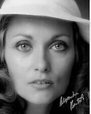 ALEXANDRA BASTEDO hand-signed BEAUTIFUL YOUNG 8x10 PORTRAIT CLOSEUP uacc rd coa