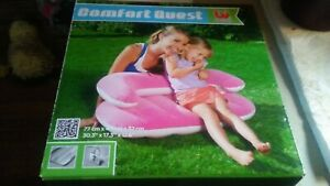 New Comfort Quest Bestway Inflatable Couch Seat  ages 3-6