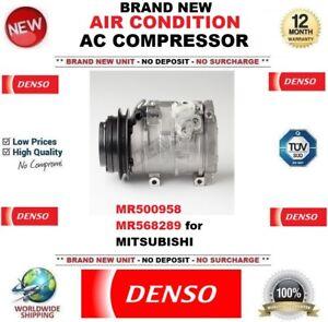 DENSO AIR CONDITION AC COMPRESSOR MR500958 MR568289 for MITSUBISHI BRAND NEW