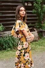 Anthropologie Ikebana Floral Blouse Top UK 10 EU 36 US 6 Eva Franco