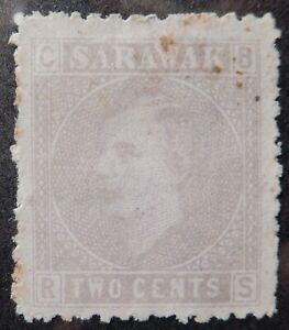 Sarawak Scott # 3, Mint Original Gum (HR)