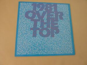 1981 OVER THE TOP COMPILATION LP 18 TRACKS AUSTRALIAN RELEASE 1981 - FESTIVAL