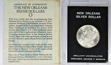 Brilliant Uncirculated New Orleans 1884 Morgan Silver Dollar Designer George M