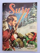 SUSY N° 3  ( BD PETIT FORMAT MENSUEL EDITION AREDIT ANNEE 1970 )