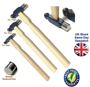 Ball Pein Hammers 30 to 120mm Wooden Handle Multiuse Steel Head