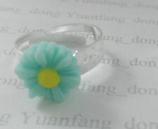 Handmade Turquoise Alloy Costume Rings