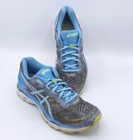 Asics Womens Gel Kayano 23 Running Shoes Blue T6A5N Low Top Lace Up Mesh 8.5 M