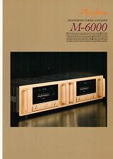 Faltblatt Accuphase M-6000  B564