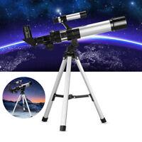 Eyebre F40400 150X Portable Astronomical Refractor Telescope + Portable Tripod L