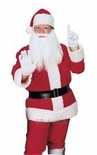 Flannelette Santa Suit Fancy Dress Costume