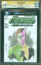 Green Lantern 13 Blank Sketch Cover CGC SS 9.6 Hal Jordan Sinestro by Danny Haas