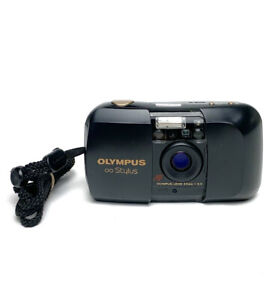 Olympus Mju I Infinity Stylus Quartz Date 35mm Point & Shoot Film Camera Excllnt