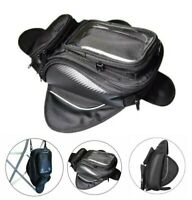 UNIVERSAL MAGNETIC TANK BAG WITH GPS PHONE POUCH MOTORBIKE BIKE MOTORCYCLE UK