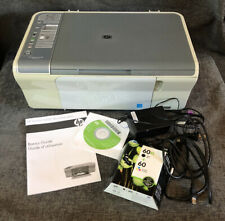 HP deskjet F4200 all-in-One series Ink TESTED Printer Scanner W/ Instructions