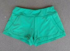 Athleta Women's Lined Running Shorts Size XS AQUA Reflective