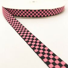 "2-5//8/"" WIDE SOFT FUCHSIA-SADDLE STITCH EDGE OLD STOCK FRENCH WIRED RIBBON"