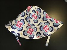 NWT Gymboree Girl 2T-3T Floral Sun Hat With Chin Strap. Free Shipping!
