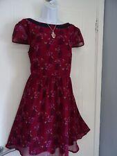 STUNNING  LADIES DOROTHY PERKINS  SUMMER  TEA   DRESS   SIZE  14