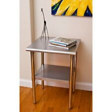 "Stainless Steel Table | 24"" x 24"" x 35� 