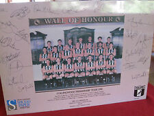 1990 GRAND FINAL PREMIER COLLINGWOOD MAGPIE Poster(Signed) &  the VIDEO  aWeSoMe